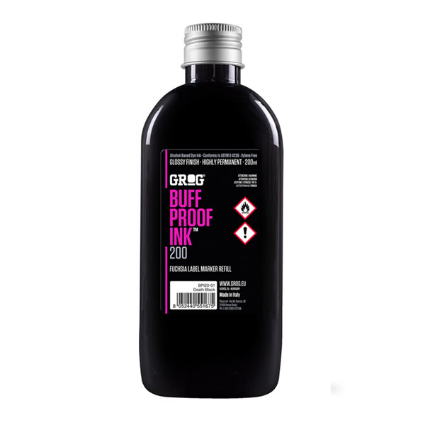 Grog Buff Proof Ink 200ml refill