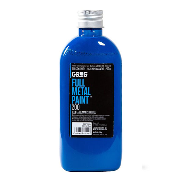 Grog Full Metal Paint  200ml refill