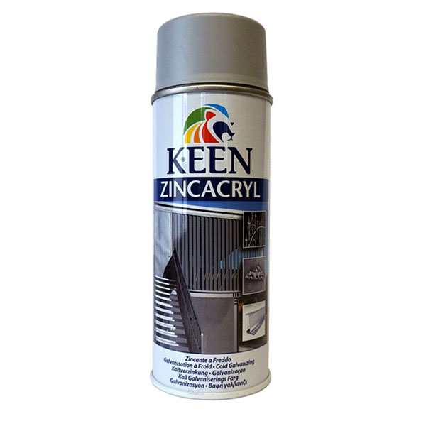 Keen ZincAcryl 400ml spray can