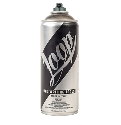Loop Colors Transparent  400ml spray can