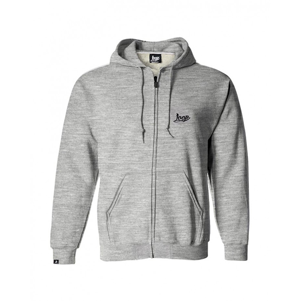Loop Colors x Wrung Pro Writer grey hoodie