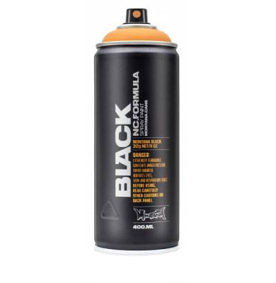 Montana Black 400ml spraycan