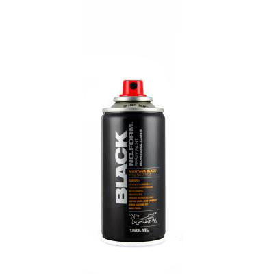 Montana Black Spider 150ml spray can