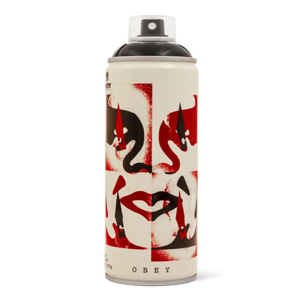 MTN Shepard Fairey OBEY 'Cut It Up' ltd. ed. 400ml spray can