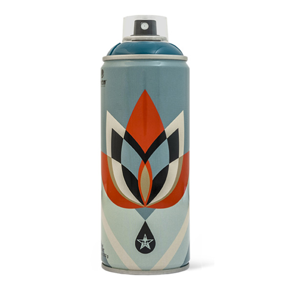 "MTN Shepard Fairey OBEY ""Lotus"" ltd. ed. 400ml spray can"