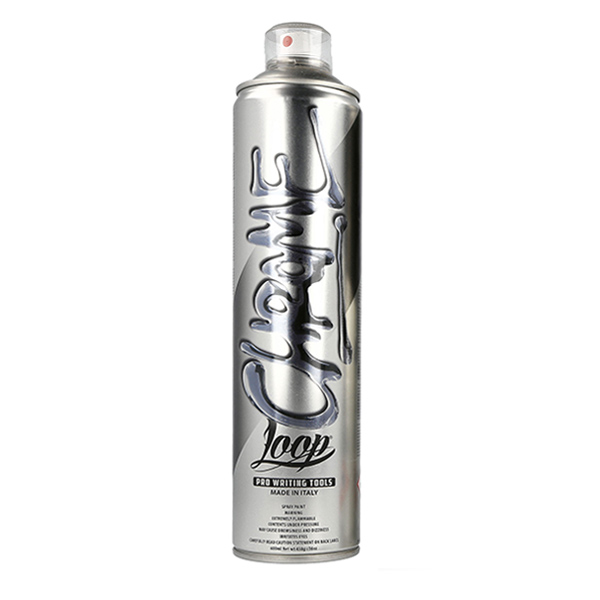 Loop Colors Chrome 600ml spray can