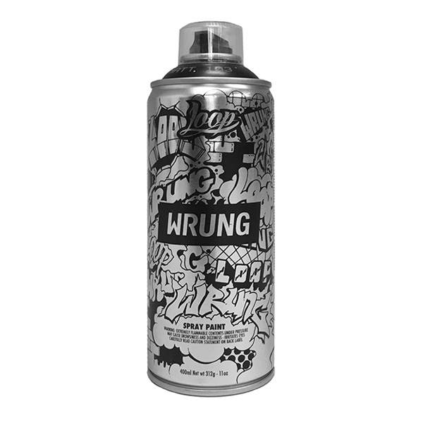 Loop Colors X Wrung ltd.ed. 400ml spraycan