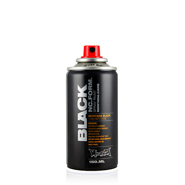 Montana Cans Black Spider 150ml spray can