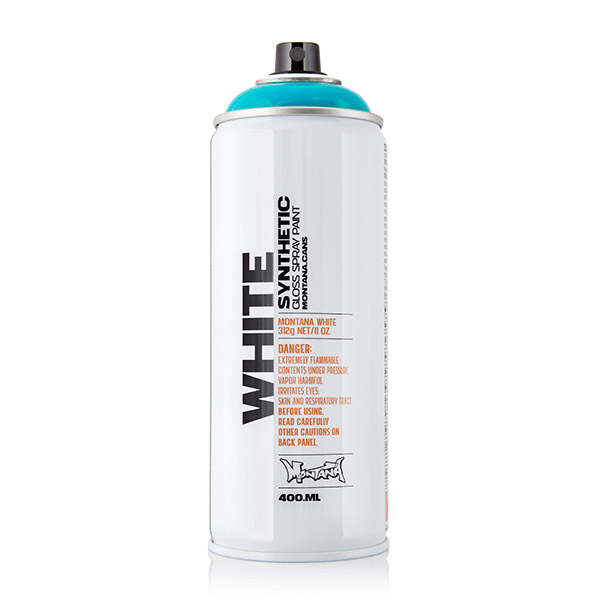 Montana White 400ml spraycan