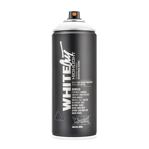 Montana Cans WhiteOut 400ml spray can