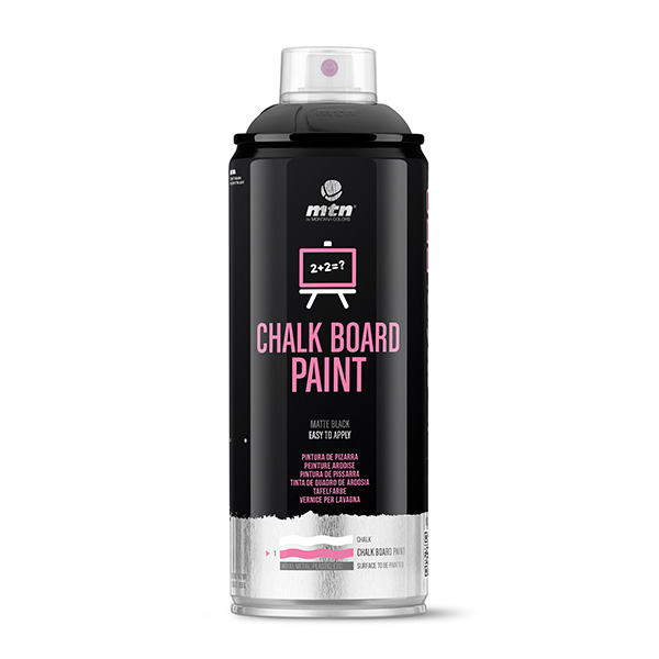 MTN PRO Chalk Board Paint 400ml spray can