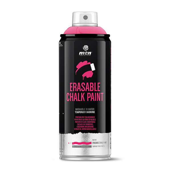 MTN PRO Erasable Chalk Paint 400ml spray can