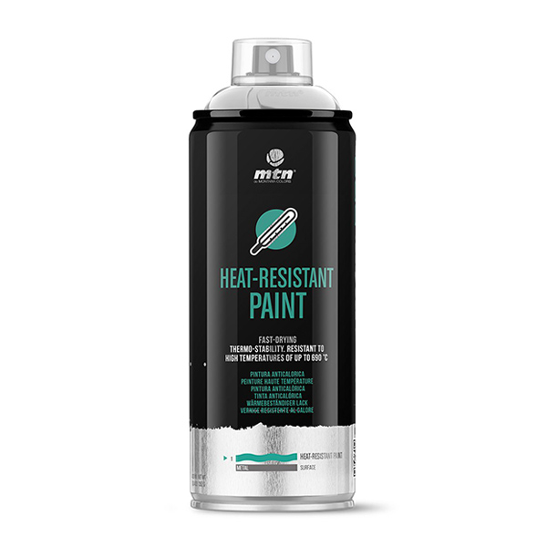 MTN PRO Heat-resistant Paint 400ml spray can