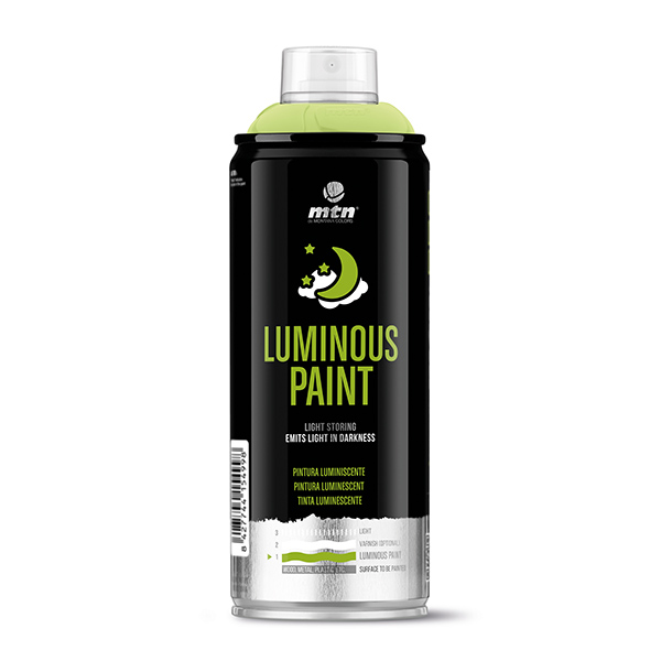 MTN PRO Luminous Paint 400ml spray can