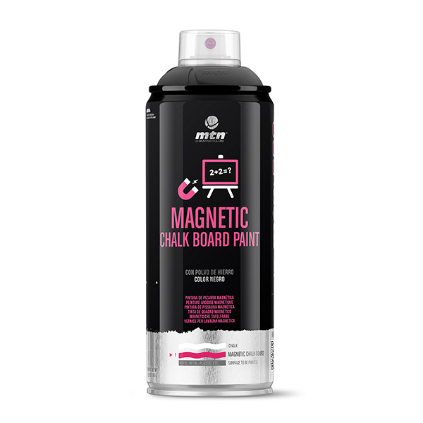 MTN PRO Magnetic Chalk Board Paint 400ml spray can