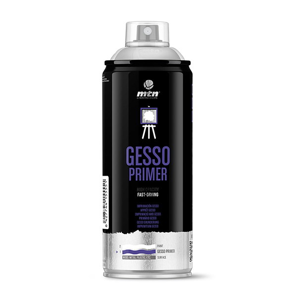 MTN PRO Gesso Primer 400ml spray can