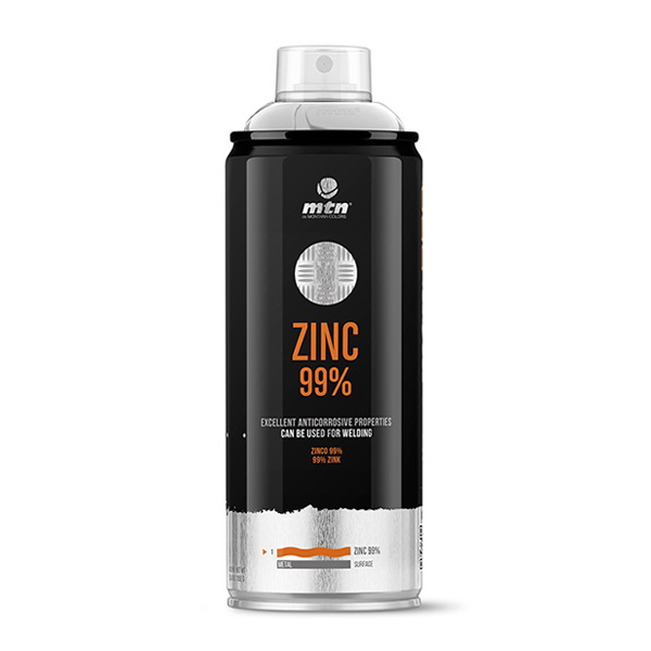 MTN Pro Zinc 99% 400ml spray can
