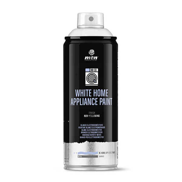 MTN PRO White Appliance Paint 400ml spray can