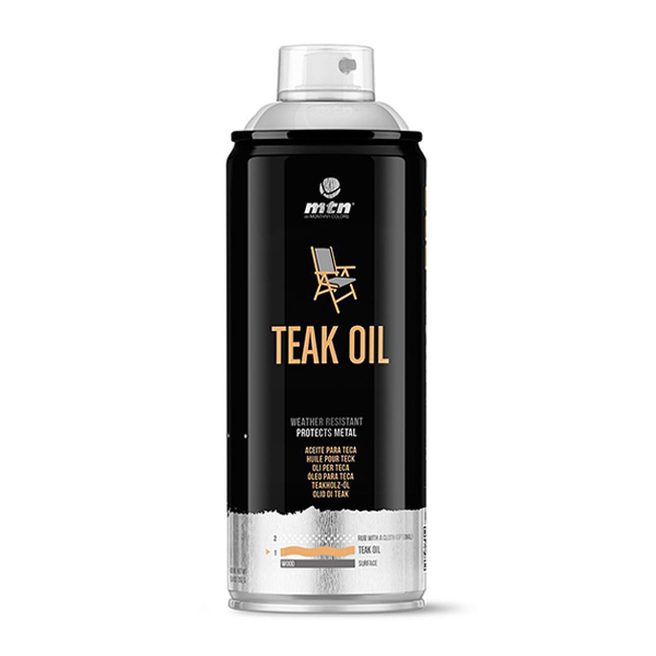 MTN PRO Teak Oil 400ml spraycan