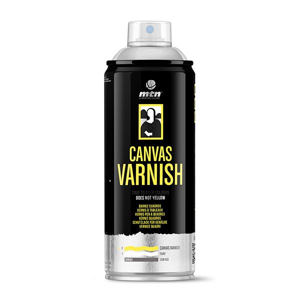 MTN PRO Canvas Varnish 400ml spray can