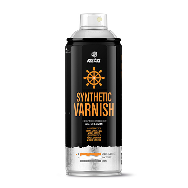 MTN PRO Synthetic Varnish 400ml spray can