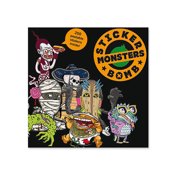Sticker Bomb Monsters sticker book