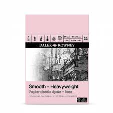 Daler Rowney Smooth Heavyweight 220gr A4 pad