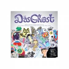 Das Ghost sticker magazine