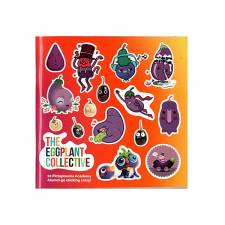 The Eggplant Collective sticker magazine