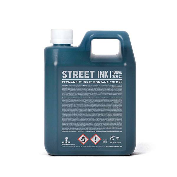 Montana Colors MTN Street Ink Black 1000ml refill