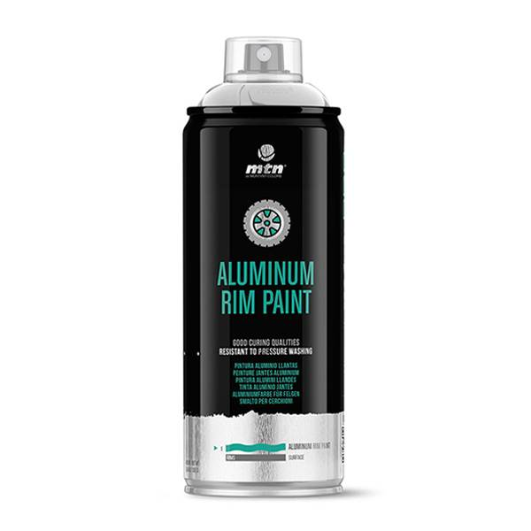 MTN PRO Aluminium Rim Paint 400ml spray can