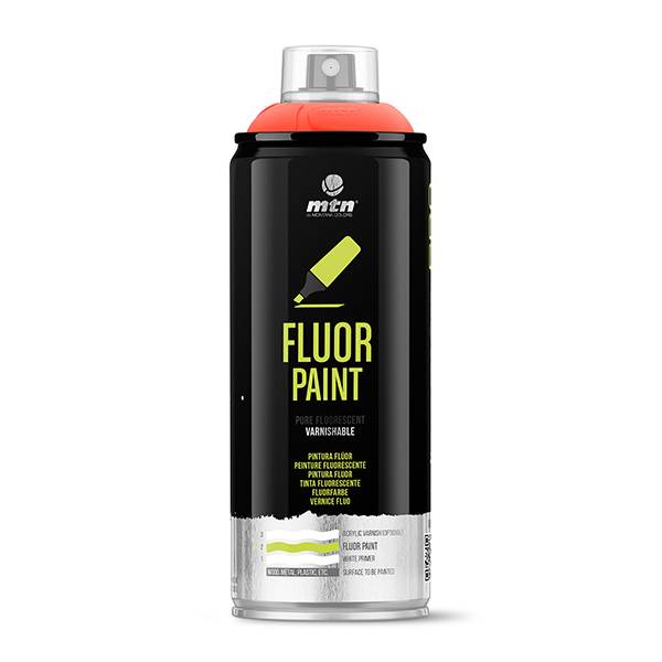 MTN PRO Fluor Paint 400ml spray can