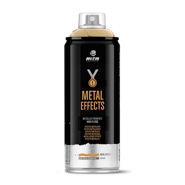 MTN PRO Metallic Effect Paint 400ml spray can