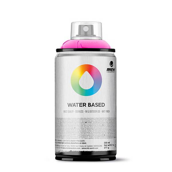 Montana Colors MTN Water Based Fluo 300ml spray can