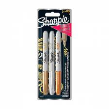 Sharpie Fine Metallic A 3pcs set