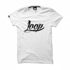 Loop Colors x Wrung OG white t-shirt