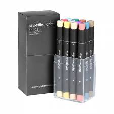 Stylefile Marker Main C 12pcs set