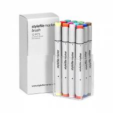 Stylefile Marker Brush Main B 12pcs set