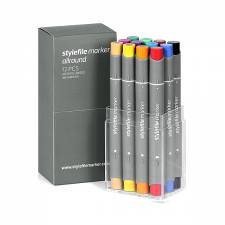 Stylefile Marker Allround Main A 12pcs set