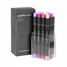 Stylefile Marker Baby 12pcs set