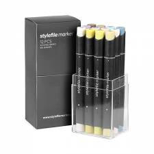 Stylefile Marker Multi 2 12pcs set