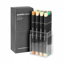 Stylefile Marker Swamp 12pcs set