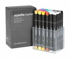 Stylefile Marker Main A 24pcs set