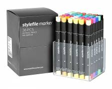 Stylefile Marker Main A 36pcs set