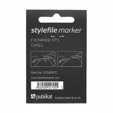 Stylefile Marker Chisel replace tip (7pcs)
