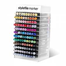 Stylefile Marker 120x Full Acrylic display