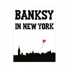 Banksy - in New York book