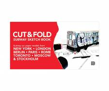 Cut and Fold Subway colouring book
