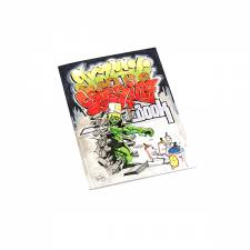 Graffiti Colouring book